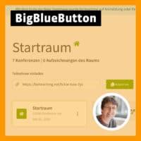 Beitragsbild zum BigBlueButton-Videotutorial