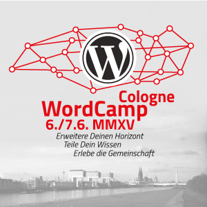 WordCamp Cologne Banner