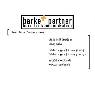 Teaserbild Grafikdesign Projekt barke+partner