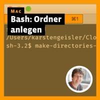 Betragsbild »Mac: Bash-Skript zum Anlegen von Ordnern«