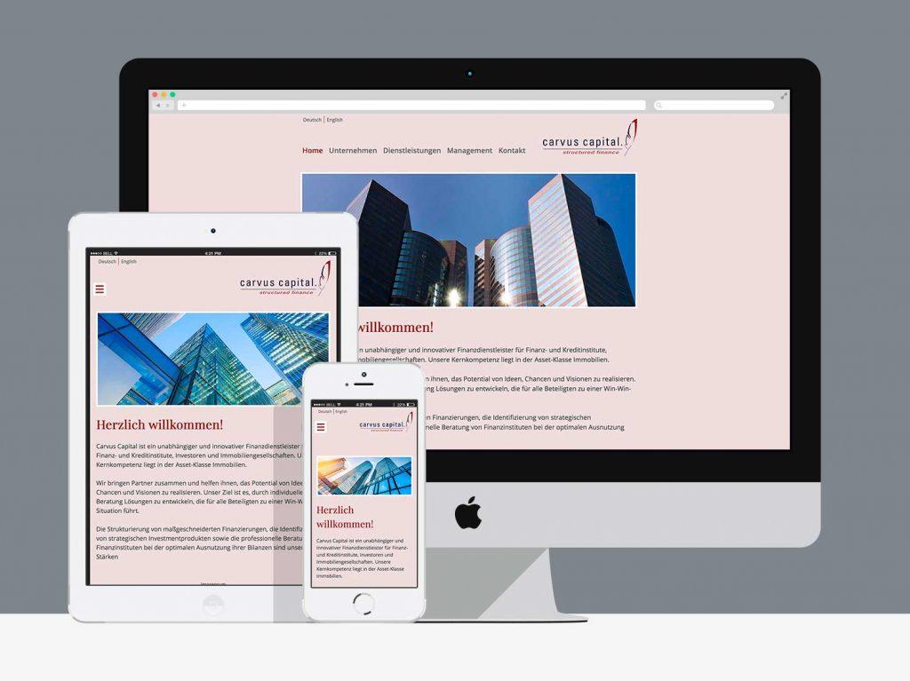 WordPress-Theme für cavus-capital.com