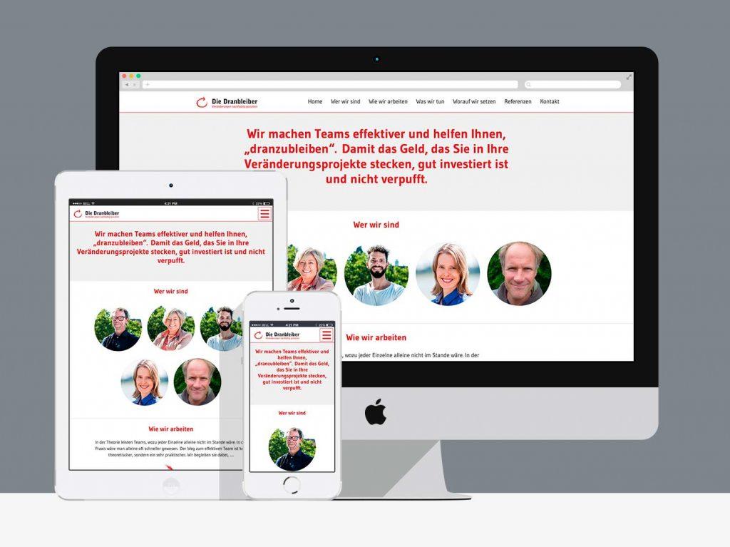 grafik- & webdesign köln: die-dranbleiber.de