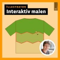 Beitragsbild für das Illustrator-Video-Tutorial: Interaktiv malen