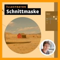 Beitragsbild zum Illustrator-Videotutorial: Schnittmasken erstellen und bearbeiten