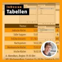Beitragsbild Videotutorial Indesign: Tabellen