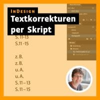Beitragsbild »InDesign: Textkorrekturen per Skript«