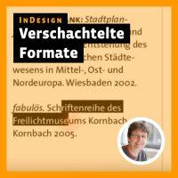 Beitragsbild Videotutorial InDesign: »Verschachtelte Formate«