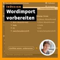 Beitragsbild: Indesign – Wordimport vorbereiten