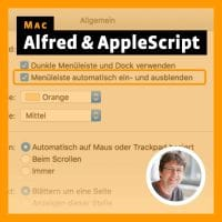 Beitragsbild für Mac: Alfred & AppleScript