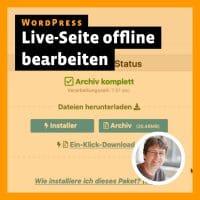 Post-Thumbnail zum InDesign-Tutorial: WordPress-Seite offline bearbeiten