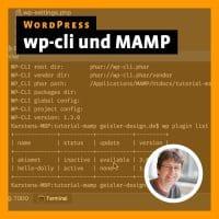 Beitragsbild zu »WordPress: wp-cli und MAMP«